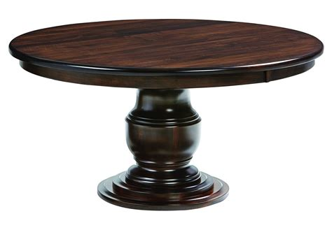 ashton round pedestal dining table amish ziglar round pedestal dining table surrey street