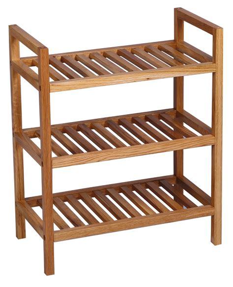waverly oak narrow 3 tier stackable shoe rack