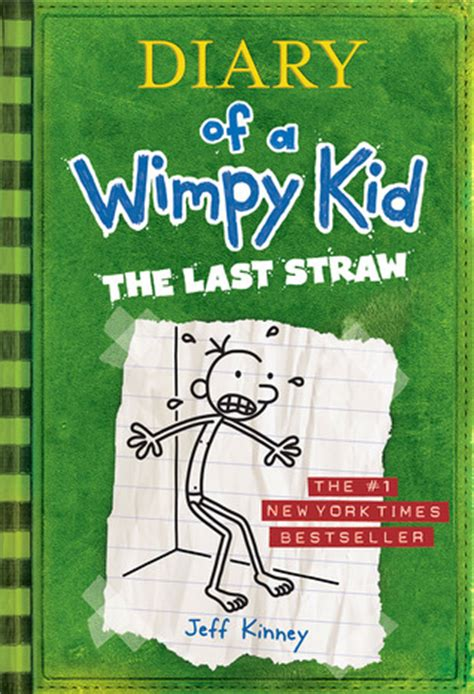 straw diary   wimpy kid   jeff kinney