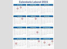Calendario Laboral 2015 Rankia