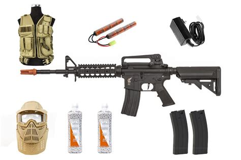 Best Airsoft Rifle Starter Package Apex Fast Attack w ...