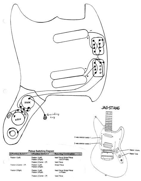 cobain mustang  jagstang wiring diagrams fmic official