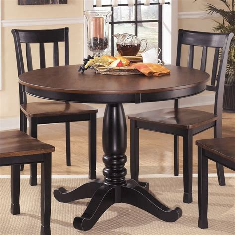 signature design  ashley  dining room table