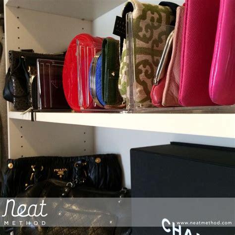 neat method organized closet shelf dividers