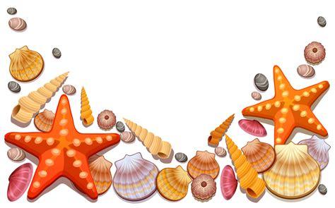 free clip sea shells clipart best