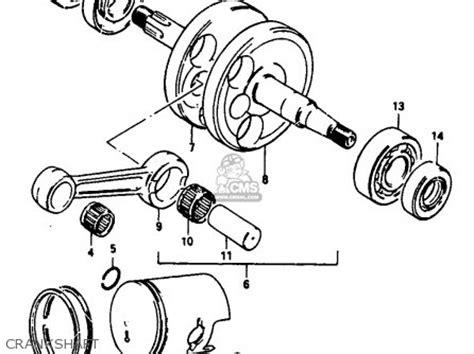Suzuki Jr 50 Parts by Suzuki Jr50 1986 G Parts List Partsmanual Partsfiche