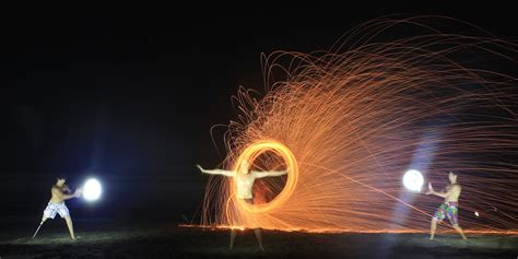 long time exposure photography light painting