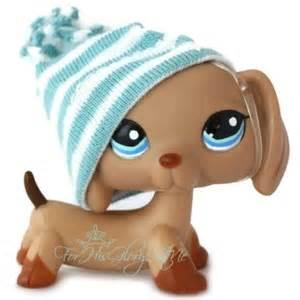 Littlest Pet Shop Brown Dachshund