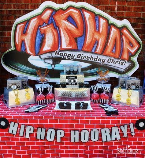 hip hop party ideas  pinterest  party