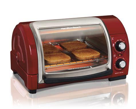 Toaster Oven Toast - hamilton easy reach pizza toaster oven broiler