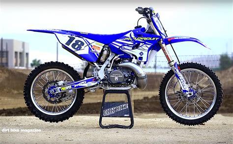 2 stroke motocross bikes pro circuit yamaha yz250 2 stroke dirt bike magazine