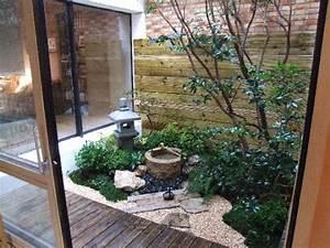 Jardin Japonais Interieur : petit jardin japonais decoration interieur ~ Dallasstarsshop.com Idées de Décoration