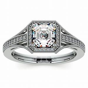5 tips for buying asscher engagement rings with vintage With what to look for when buying a wedding ring