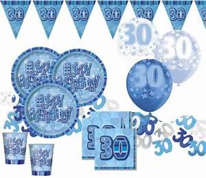 Dekoration 30 Geburtstag : 30 geburtstag deko konfetti blau ~ Yasmunasinghe.com Haus und Dekorationen