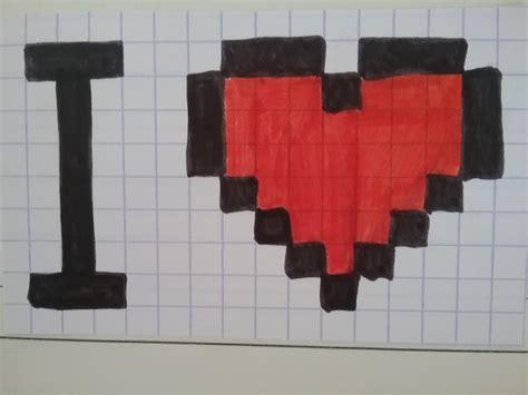 Dessin Pixel Art Loup Facile