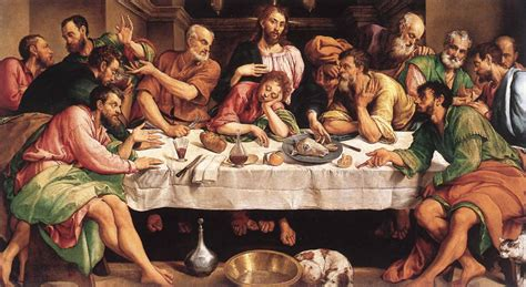 la cuisine de la rome antique webmuseum bassano jacopo the last supper