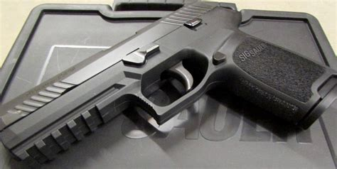Sig Sauer P320 Review The Us Army's New Pistol  Pew Pew