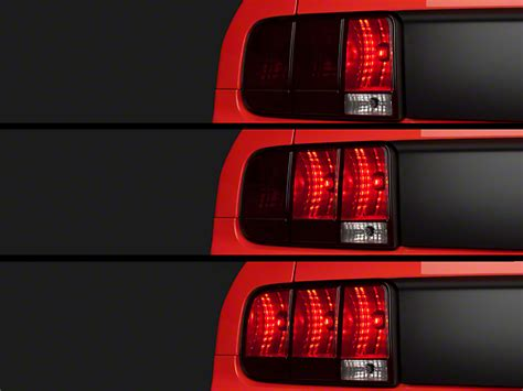 05 mustang sequential tail lights axial mustang sequential tail lights kit cut and splice