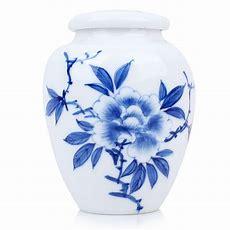 Blue And White Porcelain Caddypeony Esgreenenjoy  Slow