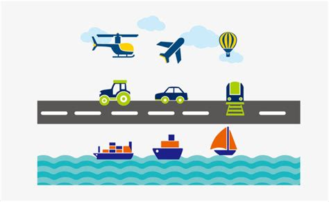land sea  air transport vector sea vector air vector