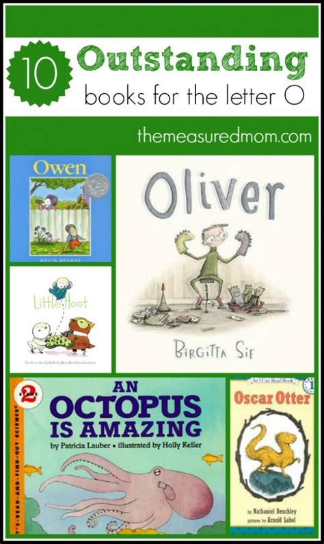 books to read for letter o the measured 903 | books for letter O the measured mom 590x990