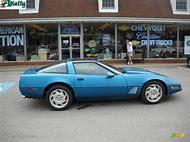 1996 Corvette Bright Aqua Metallic