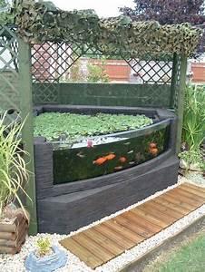 Jardin Avec Bassin : comment ajouter une vitre sur son bassin ~ Melissatoandfro.com Idées de Décoration
