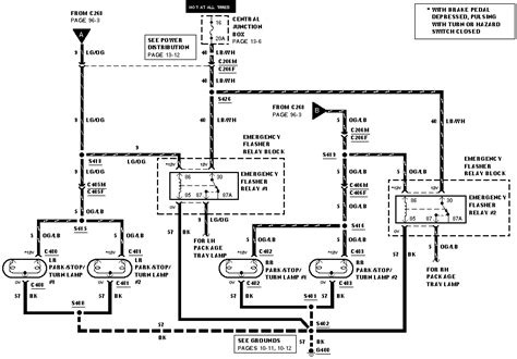 2005 Crown Victorium Wiring Diagram by A 2000 Crown Package Numerous Wires
