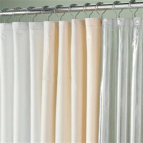 108 quot wide vinyl shower curtain liner townhouse linens