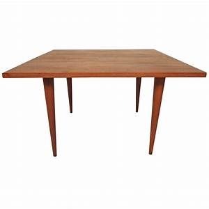 mid century modern square coffee table in the style of With mid century modern square coffee table