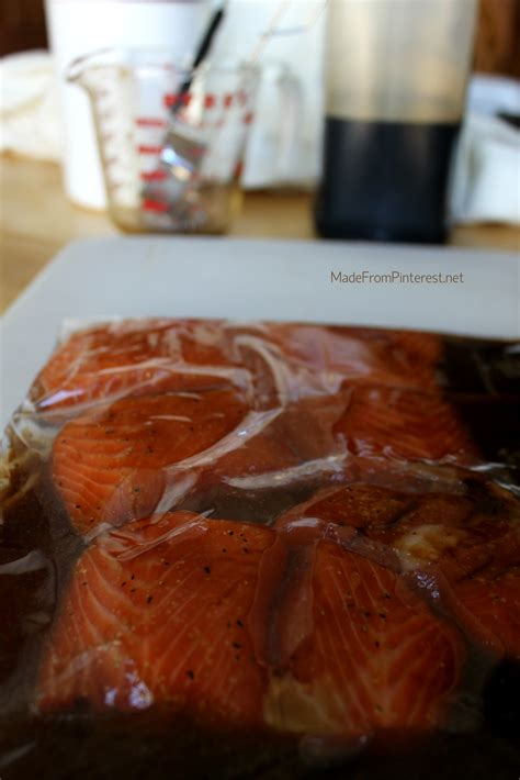 soy sauce  brown sugar salmon marinade