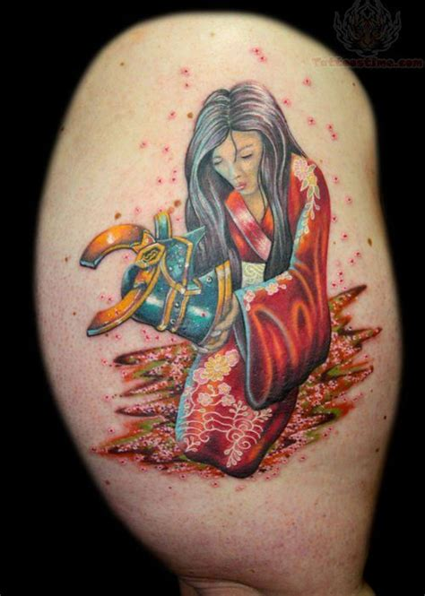 samurai girl tattoo designs samurai tattoo images