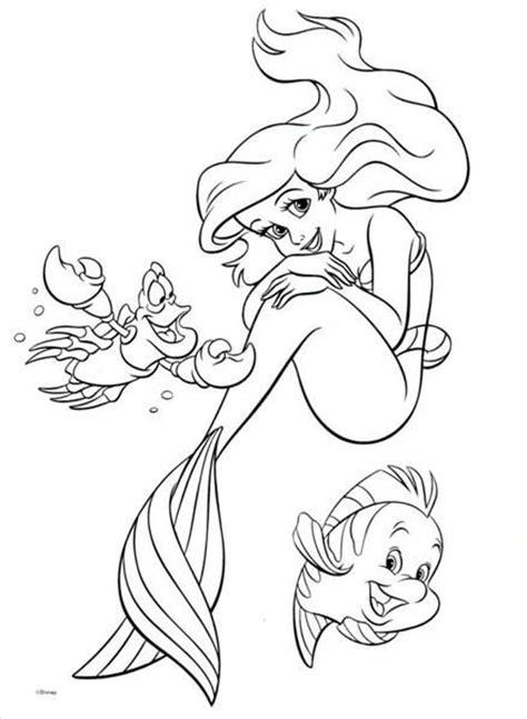 45 best Disney's Little Mermaid Malesider images on Pinterest | Disney coloring sheets, Print