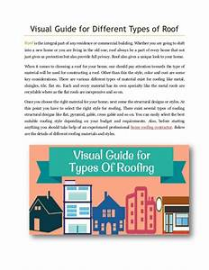 Visual Guide For Different Types Of Roof