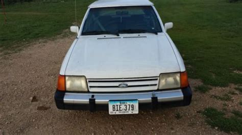 manual cars for sale 1987 ford escort electronic valve timing sell used 1987 ford escort gl hatchback 4 door 1 9l only 65 240 miles one owner car in
