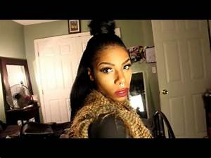Top Knot StyleKRS Hair Group Clip Ins YouTube
