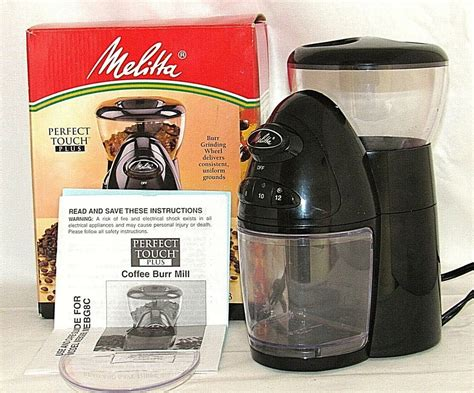 3.3 out of 5 stars with 170 ratings. Melitta Perfect Touch Plus Programmable Coffee Mill MEBG8B Burr Grinder #Melitta   Commercial ...