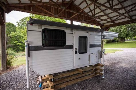 wheel campers grandby flat bed truck camper