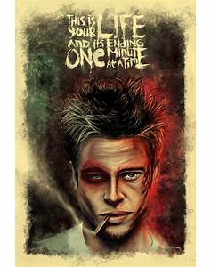 Alternative movie poster for Fight Club by Raj Khatri