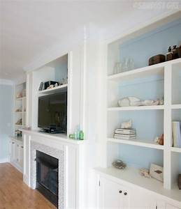 Courtney's Living Room Built-ins Reveal - Sawdust Girl®