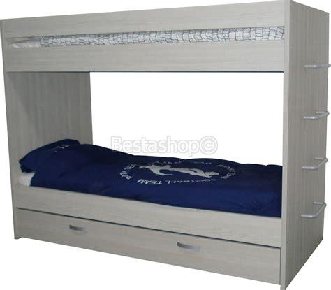 lit superpos 233 trio personnes avec tiroir ou 3 places pas cher