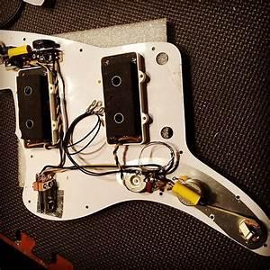 Sunday Handwound Jazzmaster Custom Pickguard Wiring 2019
