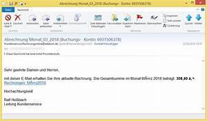 Ihre Aktuelle Rechnung : abrechnung monat 03 2018 buchungs konto 6931506378 von ~ Themetempest.com Abrechnung