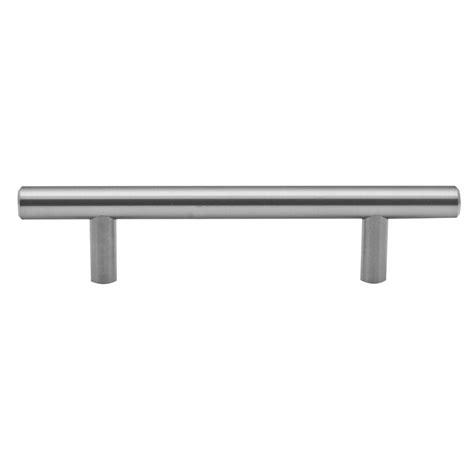 Bunnings Cupboard Handles by Prestige 96mm Brushed Stainless Steel Pull Handle