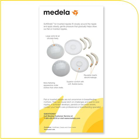 Amazoncom Medela Softshells For Inverted Nipples
