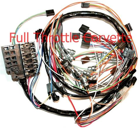Dash Wiring Harnes by 1963 Corvette Dash Wiring Harness Without Back Up Lights