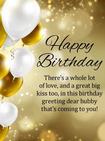 day happy birthday card  husband birthday