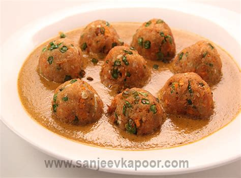 cuisine masterchef how to mix vegetable kofta curry recipe by masterchef sanjeev kapoor