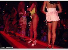 Dancers at famous Atlanta strip club The Cheetah detail
