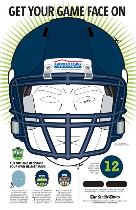 fan frenzy   game face  seahawks blog